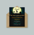 Halloween invitation