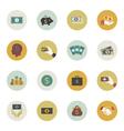 Money circle icon vector image vector image