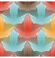 polka dot pattern stars on a white Casual vector image vector image