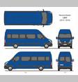 renault master passenger van l4h3 2014-2019 vector image vector image