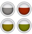 tea bags circle vector image vector image