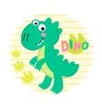 Dinosaur Rex vector image