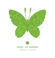 abstract green and white circles butterfly vector image vector image
