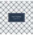 creative minimal pattern background vector image vector image