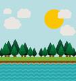 Landscape design vector image vector image