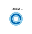 loading icons white background vector image vector image
