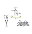 management motivation and control organization vector image vector image