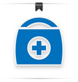 medical first aid box sign vector image