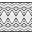 romantic lace seamless pattern vintage vector image vector image
