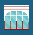 storefront facade icon image vector image vector image