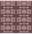 Tribal colored pattern 7 vector image vector image