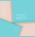 paper art abstract background vector image