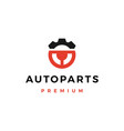 automotive part service logo icon vector image