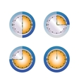 Glass hours vector image vector image