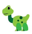 Isolated dinosaur toy vector image vector image