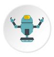 machine robot icon circle