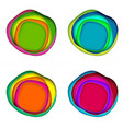 paper cut set vector image