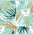 seamless floral pattern creative hight detailed vector image vector image