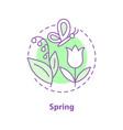 spring season concept icon vector image