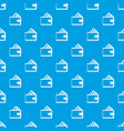 wallet with credit card pattern seamless blue vector image vector image