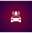 car alarm Flat vector image vector image