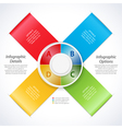 design banner ribbons and 3d dial vector image vector image