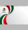 mexico color background vector image vector image
