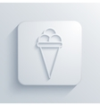 modern ice cream light icon vector image