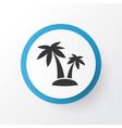 palms icon symbol premium quality isolated tree vector image vector image