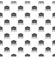 stilt house pattern seamless vector image vector image