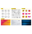 world statistics copyright laptop and accounting vector image vector image