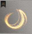 abstract light streak lines vector image vector image