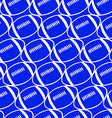 Football seamless pattern vector image