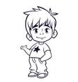 kid39 vector image vector image