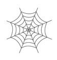spider web cobweb icon spiderweb border vector image vector image