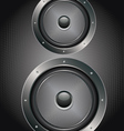 Audio Speaker Icon4 vector image vector image