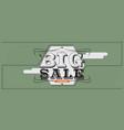 big sale 6250x2500 pixel banner vintage style vector image