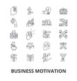 business motivation personal inspiration vector image vector image