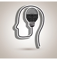 ideas isolated icon design vector image