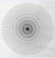 ripples mandala vector image vector image