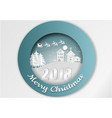 views of the house in winter snow urban vector image vector image