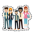 young adults people icon image vector image vector image