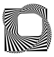 modern black and white background vector image