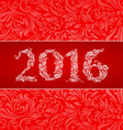 2016 banner vector image