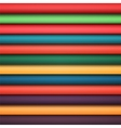 Abstract rainbow colorful lines vector image