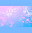 blue purple white pink glowing various tiles vector image