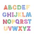 Childrens cartoon ABC vector image vector image