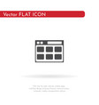 document icon for web business finance and vector image vector image