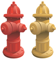 Fire Hydrants vector image vector image