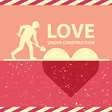 LOVE UNDER CONSTRUCTION vector image vector image